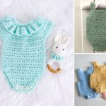Sweet Crochet Baby Rompers
