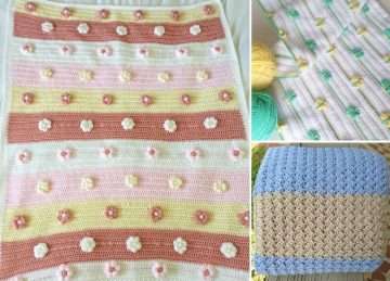 Great Stroller Crochet Blankets