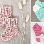 Adorable Crochet Baby Socks