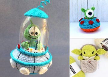 Adorable Baby Alien Crochet Ideas