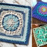 Beautiful Structural Crochet Squares