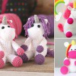 Sweet Crochet Amigurumi Unicorns