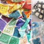Square Motif Lovely Crochet Blankets