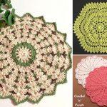 Sweet Crochet Lace Doilies