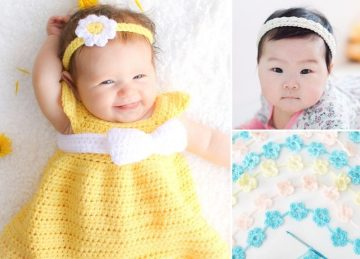 Lovely Crochet Headbands For Babies and Toddlers