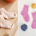 Adorable Knitted Baby Socks