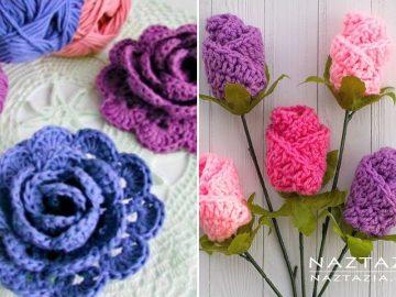 Beautiful Crochet Roses