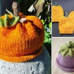 Colorful Knitted Hats For Babies