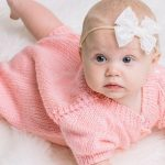 Cute Knitted Baby Rompers