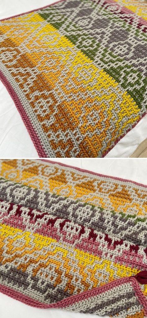 Wanderers Mosaic Blanket