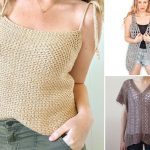 Natural Summer Crochet Tunic Ideas