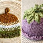 Juicy Knitted Baby Hats