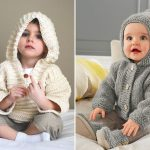 Knitted Hoodies for Babies
