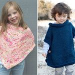 Knitted Ponchos for Kids