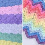 Knitted Rainbow Baby Blankets
