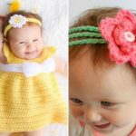 Lovely Crocheted Headbands