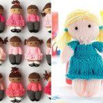Lovely Knitted Dolls