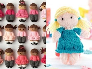Lovely Knitted Dolls