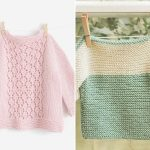 Sweet Knitted Baby Sweaters