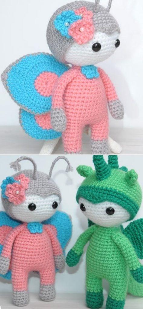 Butterfly Outfit Crochet Pattern