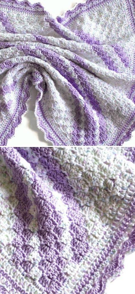 Confetti C2C Baby Blanket