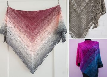 Beautiful And Feminine Crochet Shawls