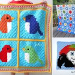 Cute Animal Crochet Baby Blankets