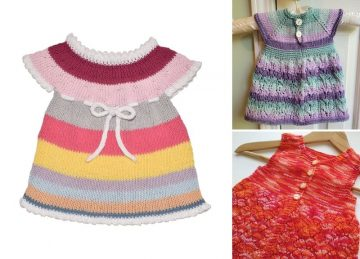 Playful Knitted Dresses