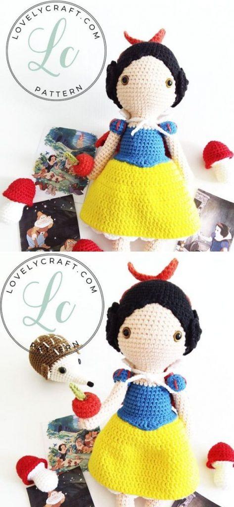 snow White Princess Cute Amigurumi