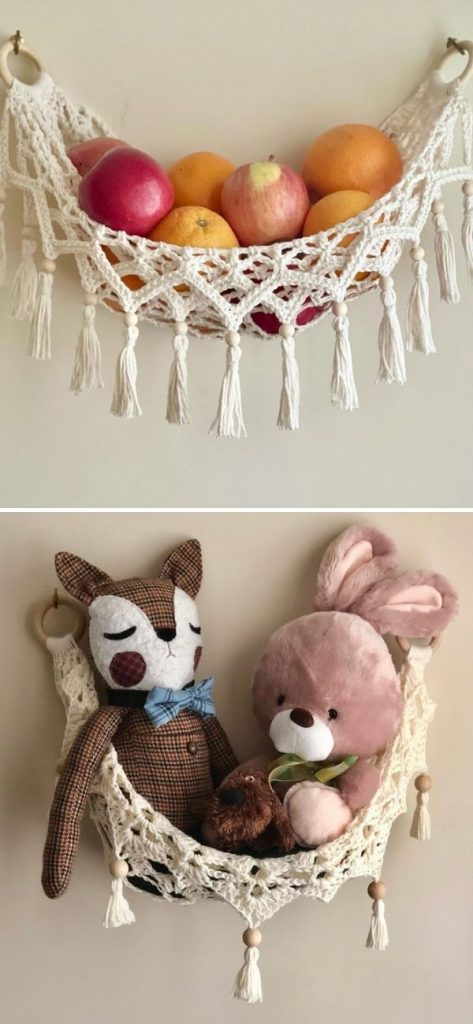 Modern Crochet Mini Hammock