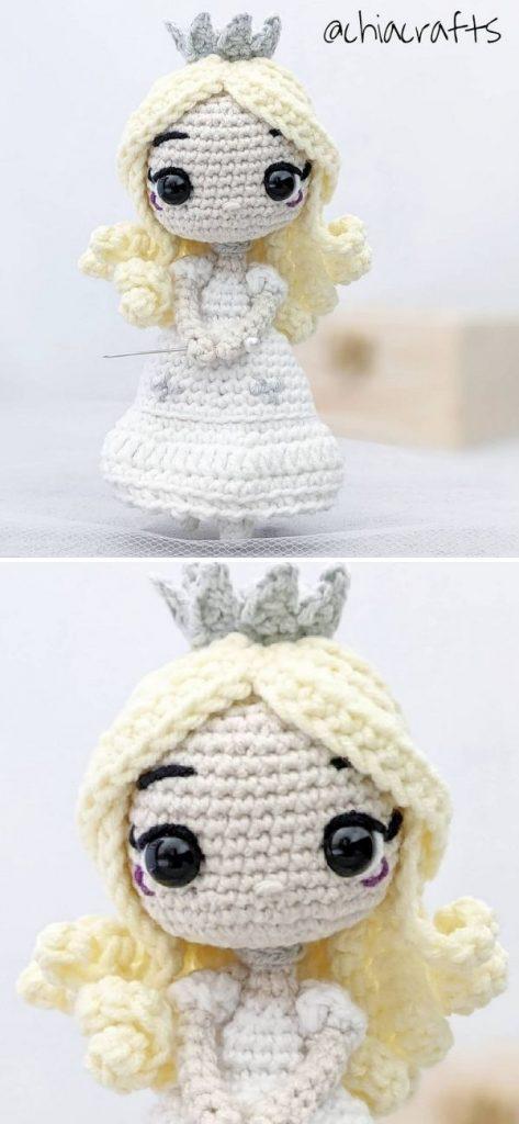 White Queen Amigurumi