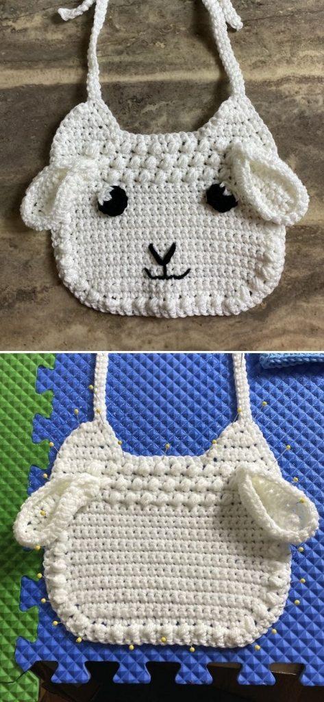 Little Lamb Baby Bib