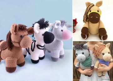 Funny Crochet Amigurumi Horse Ideas