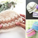 Adorable Crochet Baby Beanies