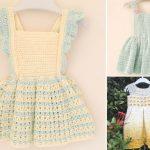 Adorable Crochet Toddler Dresses
