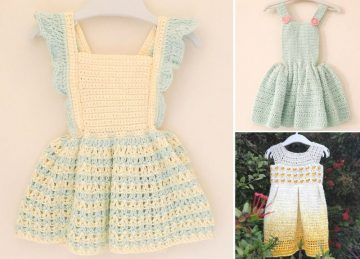 Adorable Crochet Toddler Dresses