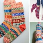 Amazing Colorful Knitted Socks