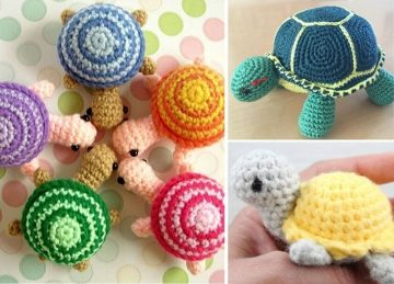 Amigurumi Turtle Ideas Free Crochet Pattern