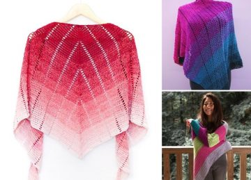 Beautiful And Feminine Crochet Shawls