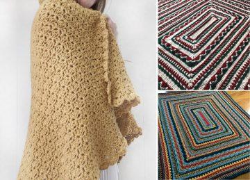 Beautiful Easy Crochet Afghan Throws