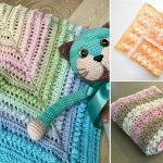 Crochet Blankets with Lacy Edgings