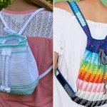 Cool Crochet Backpacks