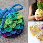 Fun Crochet Drawstring Bags for Beginners