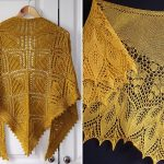 Golden Knitted Shawls