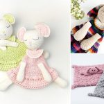 Soft Adorable Crochet Baby Lovey Ideas