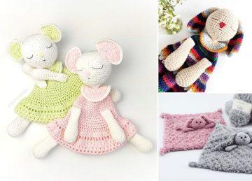 Soft Adorable Crochet Baby Lovey Ideas
