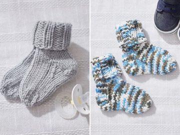 Teeny Tiny Knitted Socks