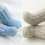 Warm Knitted Booties