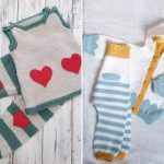 Adorable Knitted Baby Sets