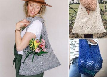 Versatile Crochet Bento Bags